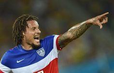 Jermaine Jones - USA team FIFA World Cup Soccer.  Awesome player