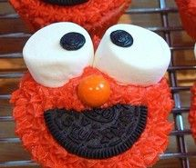 Inspiring picture cupcake, cupcakes, cute, elmo. Resolution: 425x640 px. Find the picture to your taste!