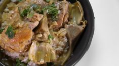 Clinton Kelly's Chicken  and  Artichoke Tagine