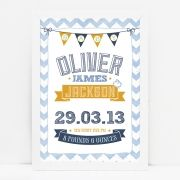 Little boo teek shop gifts online australia baby gifts online personalised new baby chevron print negle Choice Image