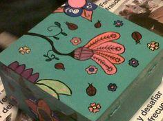 Caja pintada