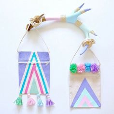 Oh we just die! These boho little purses from @madeofsugarandspice are just too cute for words. See how to craft these up for your boho kid's party. Click the link  #partyideas #craftideas #bohopurse #diyboho #bohoinspo #kidscraftideas #kidspartyidea #girlpartyideas #girlgifts #fun365 #orientaltrading