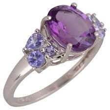 Love Amethyst and Tanzanite together.  They really do compliment each other.
