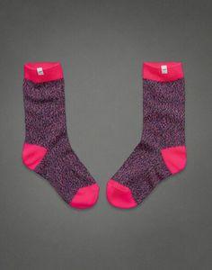 Pretty Pink Socks