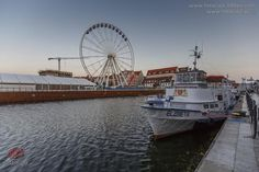 Brand-new wheel from which you can see #Gdansk from above. #wheel #JarmarkDominika #attraction | photo: fotoLajt.pl