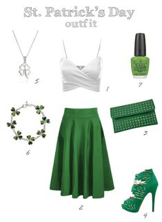 Cute St Pattys Day outfit for teens