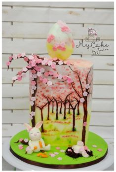 Cherry Blossom - Easter or Spring Cake