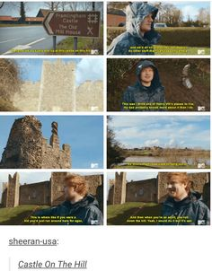 Ed at the castle on the hill omg its real!!!!!
