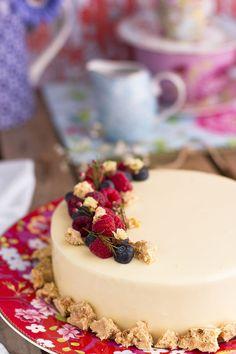 Sorprende a tu enamorado con mi tarta de vainilla caramelo y naranja. La mejor propuesta para San Valentín. Suave mousse con matices dulces