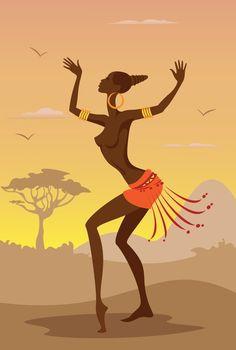 African Wall Decor african american art, african wall art decor, african woman