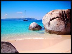 The Baths, Virgin Gorda, BVI - one of the most beautiful places I've seen.