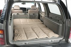 America's leading site for discount Canine Covers Cargo Liner Dog Bed D[PATTERN]BK prices. Authorized dealer and lower price guarantee. Suv Camping, Camping Hacks, Dog In Spanish, Painted Stools, Bed Liner, Adirondack Chairs For Sale, Car Bed, Pallet House, Dog Car Seats