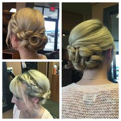 Formal Bridal Updo- Hair by Linda Bang