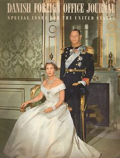 King Frederik IX and Queen Ingrid of Denmark.
