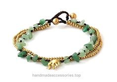 MGD, Green Aventurine Color Bead and Brass Bell Anklet. 3-strand Elephant Anklets Beautiful Handmade Brass Anklet. Small Anklets. Ankle Bracelet. Fashion Jewelry for Women, Teens and Girls, JB-0277A  Check It Out Now     $12.99    Handmade Product, slightly variations in Colours, Sizes and/or Pattern are expected. Please search for more colours a ..  http://www.handmadeaccessories.top/2017/03/21/mgd-green-aventurine-color-bead-and-brass-bell-anklet-3-strand-elephant-anklets-beau..