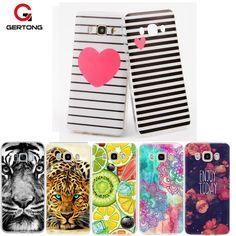 GerTong Case For Samsung S8 Plus j7 j5 2016 j3 j2 j1 mini Prime Cover Cases S7 Edge Note 8 Coque Cat Patterned TPU Phone Funda