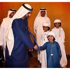 3/14 Sultan, Mohammed and Saeed with Sheikh Mohammed