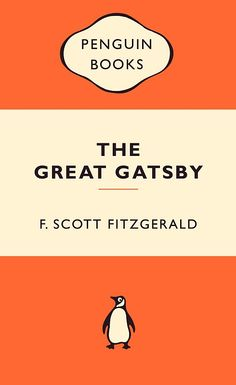 Gatsby Penguin Book. One of the most intelligently written books I've ever read. So much depth of story and character in such a short book.