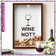 Quadro de Coleções Wine Not, um dos nossos novos queridinhos!! Você encontra…