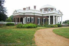 Monticello http://www.tourguidetofun.com/monticello/  #monticello