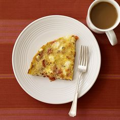 Weight Watchers Tomato and Feta Frittata ~ 3 Points+