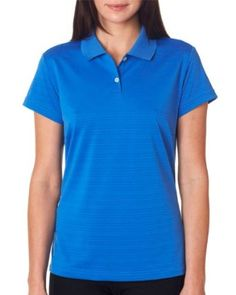 Adidas Golf Ladies ClimaLite Textured Short-Sleeve Polo Shirt, ASH, X-Large adidas. $17.49