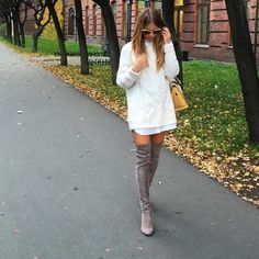 The IT BOOT of FALL 2014?? The Highland Boot by Stuart Weitzman http://jetsetbabe.com/stuart-weitzman-highland-boots