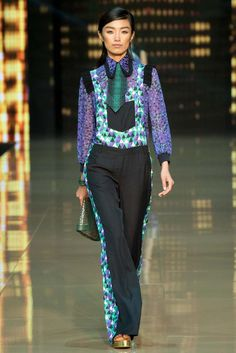 Just Cavalli Spring 2015 Ready-to-Wear - Collection - Gallery - Look 1 - Style.com