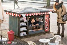 生活中讓我們快樂的小事,迷你可口可樂售貨亭現身柏林! - JUKSY 線上流行雜誌