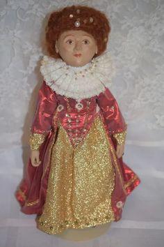 Queen Elizabeth Artist Doll Wonderful Character Doll : Oldeclectics | Ruby Lane