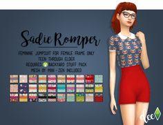 Mini-Zen's Sadie Romper