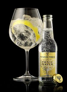 Fever Tree Tonic Water - mix with Hendricks Gin and lemon Vodka Tonic, Tonic Drink, Gin And Tonic, Fever Tree Indian Tonic, Fever Tree Tonic Water, Fever Tree Lemon Tonic, Vodka Cocktails, Alcoholic Drinks, Beverages