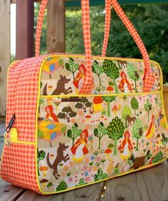 Dorothy Day Tripper | The best sewing patterns for women, girls, toys and more. Go To Patterns & Co.