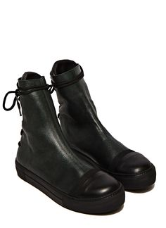 9542dc219f0f88 Barny Nakhle Greta Leather Boots Black Shoes