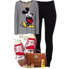 Mickey Mouse Cashmere Sweater.