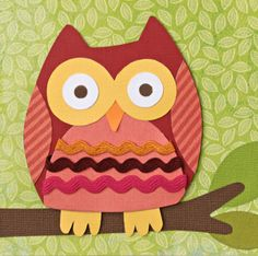 owl crafts   Don't miss out – treat yourself to the October issue of PaperCraft ...