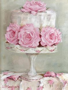Celebration cake by Gail McCormack
