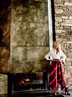 Blake Lively by Mario Testino for Vogue US August 2014