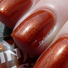 """Ninja Polish """"Fire Opal Dreams"""" from the Gemstone Dreams collection"""