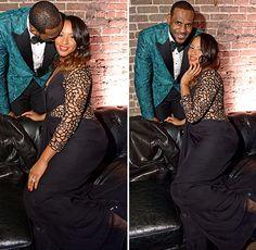 LeBron James's Wife Savannah Brinson Pregnant With Baby
