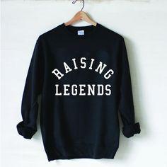 """Raising Legends"" Raglan Sweatshirt – Ford / Wyatt"