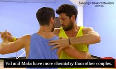 Val and Maks have more chemistry than other couples!