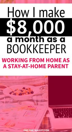 How to become a Bookkeeper in 2020 (Plus Online Bookkeeping Jobs) This is a well paying stay at home job for moms and dads looking to make money from home. A detailed post on bookkeeping for beginners along with a free class to understand how this works Ways To Earn Money, Earn Money From Home, Way To Make Money, Money Saving Tips, Make Money Online, How To Make, Earning Money, Money Tips, Online Bookkeeping