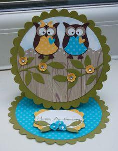Anniversary owls