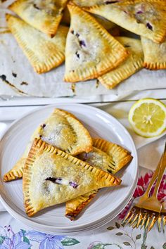 Blueberry-Cream Cheese (use any pie filling) Hand Pies - Use ready-made pie crust for an easy treat