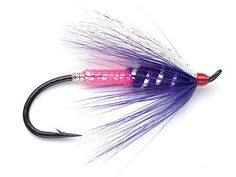 pink/purple fly