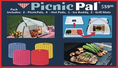 PicnicPal, The Food-Protecting Tent