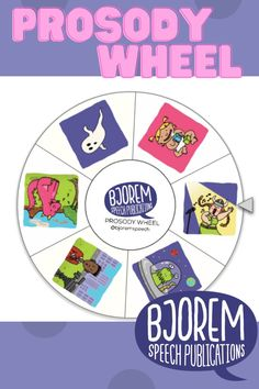 A prosody speech wheel from Bjorem Speech! #speechtherapist #speechtherapy #slp #bjoremspeech #childhoodapraxia