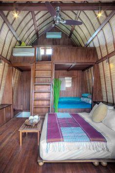 Lataliana - lumbung bedroom