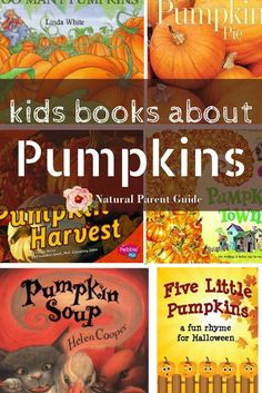 Favorite Children's books about pumpkins. Get into the spirit of fall with these great books for kids | pumpkin books | fall reads | picture books | bedtime stories | fall unit homeschool | homeschooling | Autumn